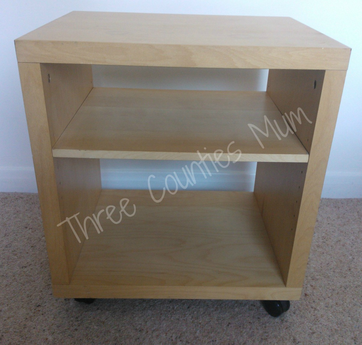 Three Counties Mum Upcycled Bedside Table