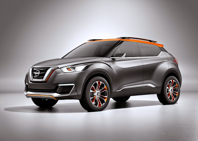 Nissan Mengeluarkan Produk Mobil Kicks sebagai Pesaing Honda HR-V