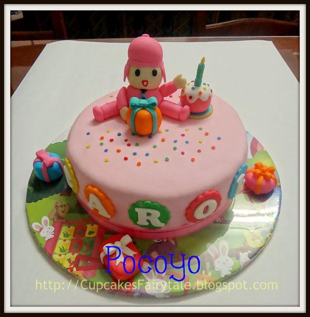 5kg Cake Images : Cupcakes Fairytale: BABY CAROL S 1ST BIRTHDAY CAKE - POCOYO