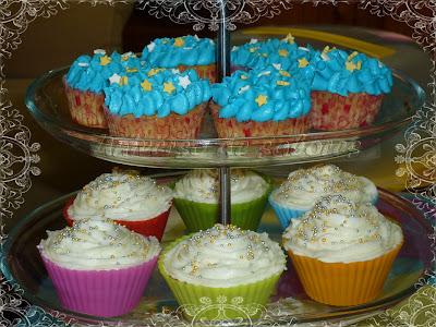 cupcakes de manzana y canela