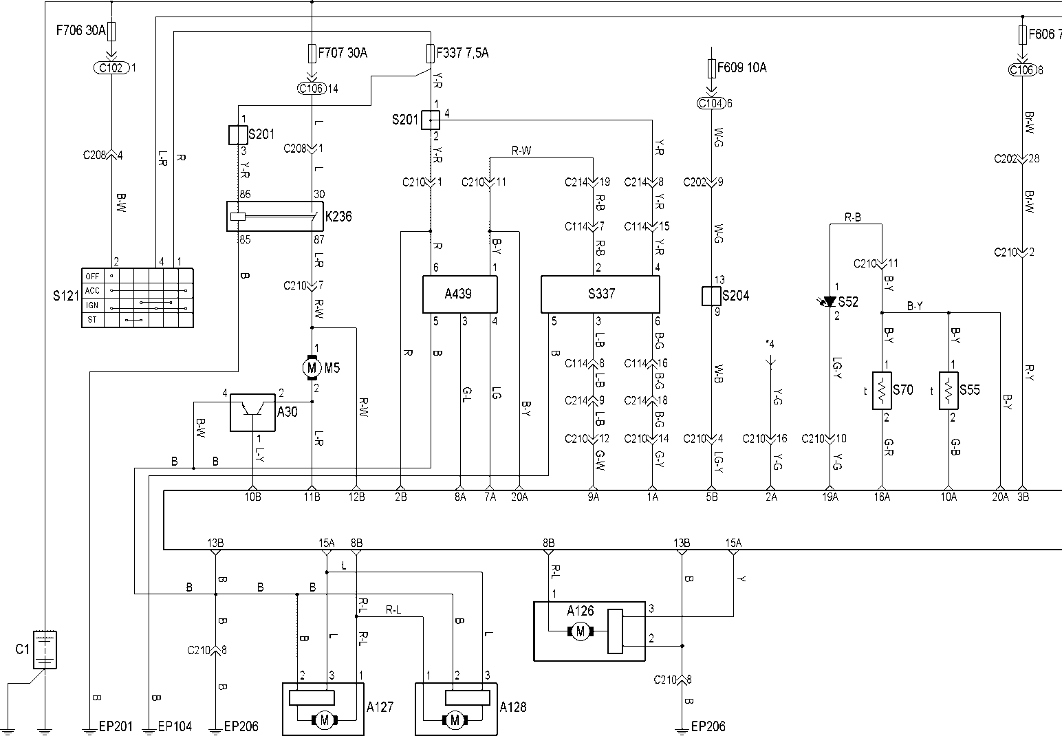 Электрическая схема питания кондиционера