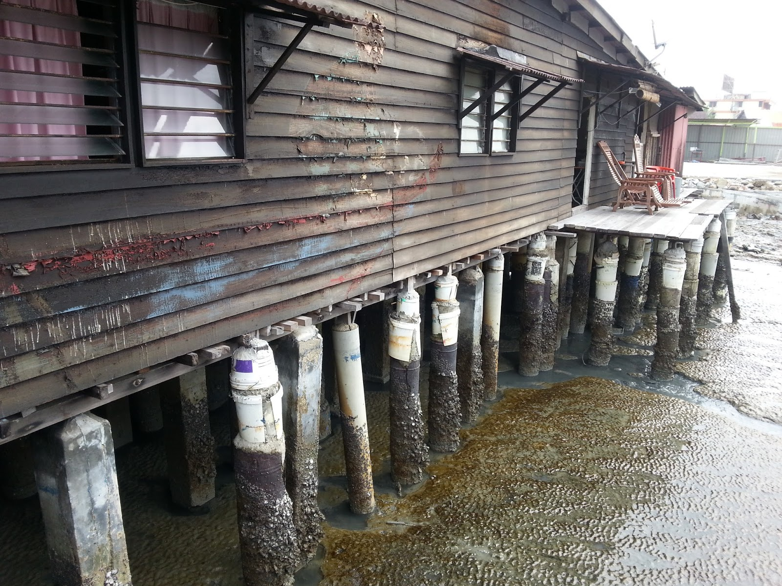 Clan jetties for Concrete pilings for house