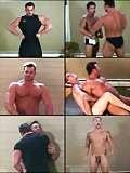 image of nude boy wrestling