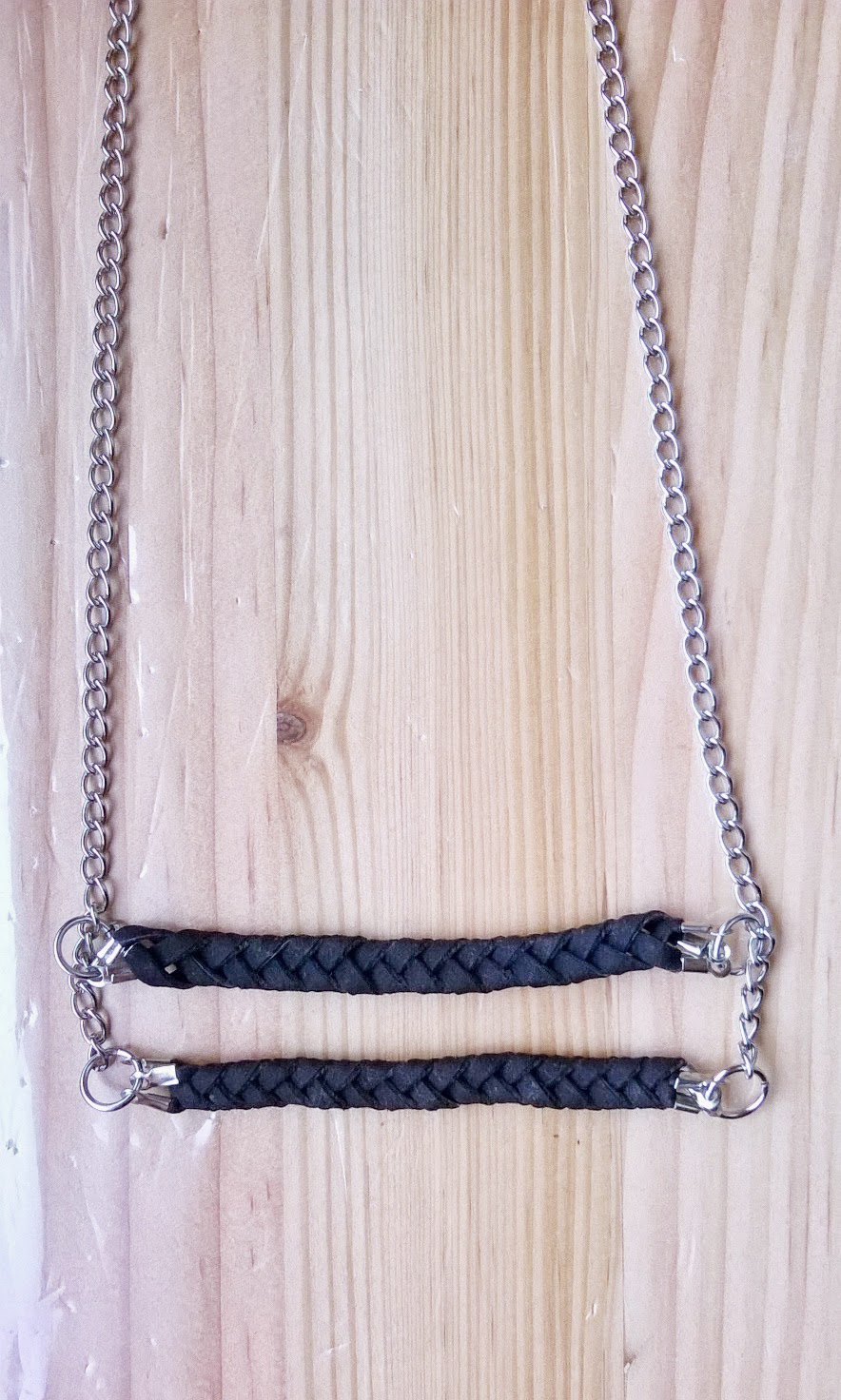 how to make a braided cord necklace