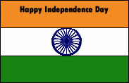 flag for Indian Independence day wishes