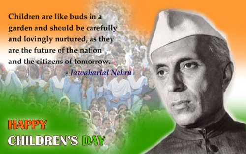 Bal Diwas - November 14 Children's Day in India