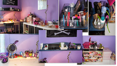 Celebrity skin la mia postazione makeup - Ikea specchio trucco ...