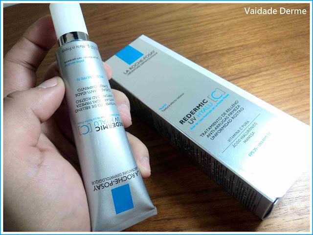 Redermic Hyalu C UV Creme Antiidade FPS 25 da La Roche-Posay