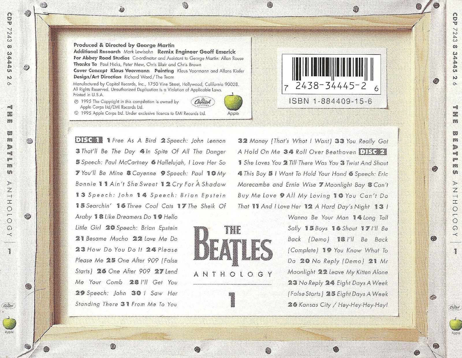 Music Box The Beatles Anthology 6 Cd 180 S Mp3 320 Kbps Mg