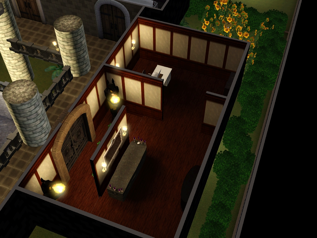 cr ation sims 3 maison pour vampire. Black Bedroom Furniture Sets. Home Design Ideas