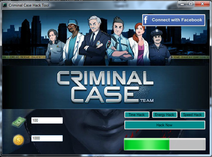 Criminal case cheat engine download