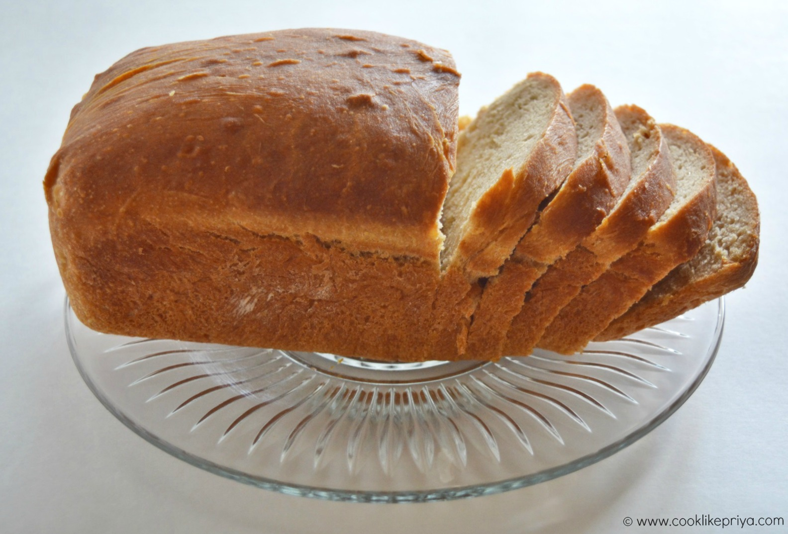 Easy wheat bread or wholewheat bread recipe