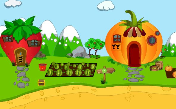 Games4King Fruit House Escape Walkthrough