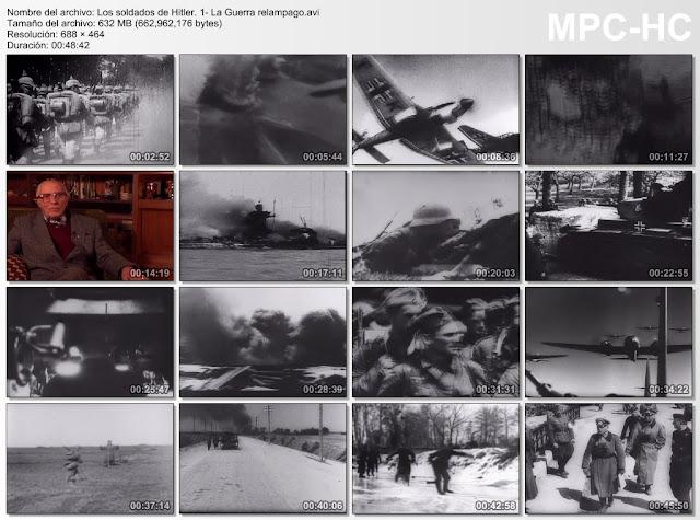 |Historia|Los Soldados de Hitler|6/6|DVDRip|MEGA|