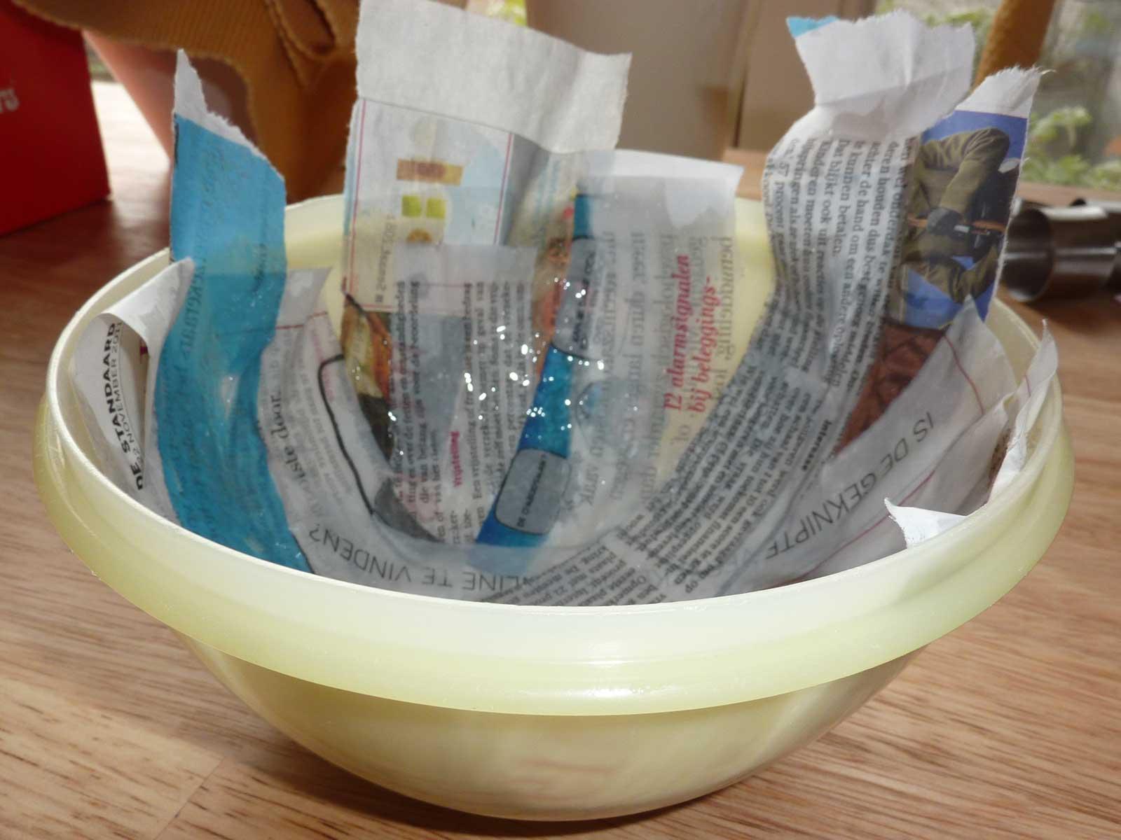 Papier Mache en ce qui concerne kamielandodille: papier maché en restjes stof
