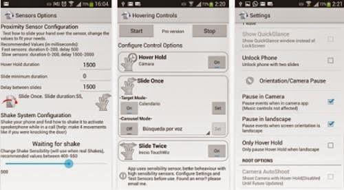 Menggeser Layar Android Tanpa Harus Menyentunya