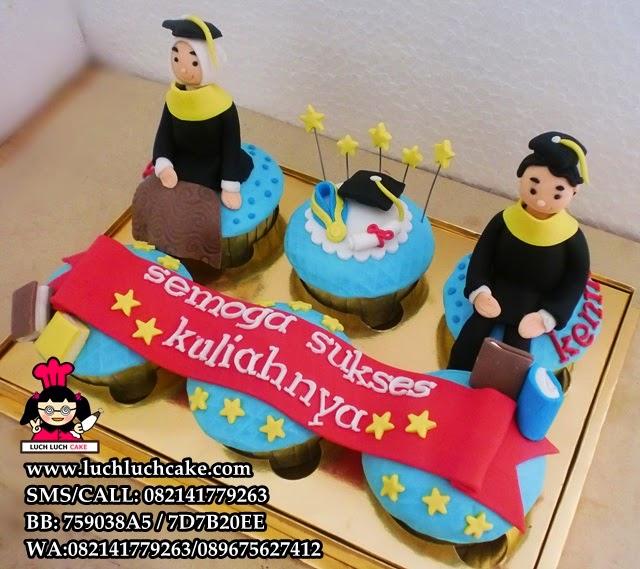 Cupcake Wisuda Daerah Surabaya - Sidoarjo