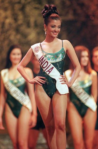 Aishwarya Rai miss world bikini photos