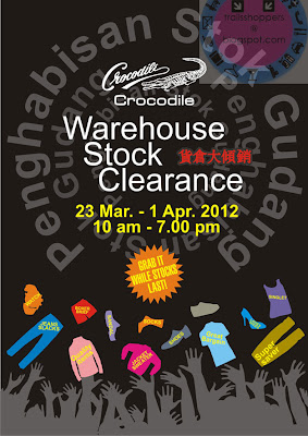Crocodile Warehouse Stock Clearance 2012 pj