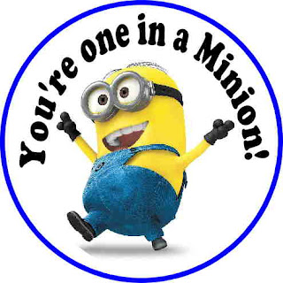 Exhilarating image intended for you re one in a minion printable