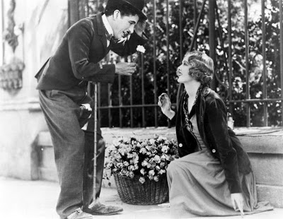 "Charles Chaplin as ""The Little Tramp"" in City Lights, Directed by Charles aka Charlie Chaplin"