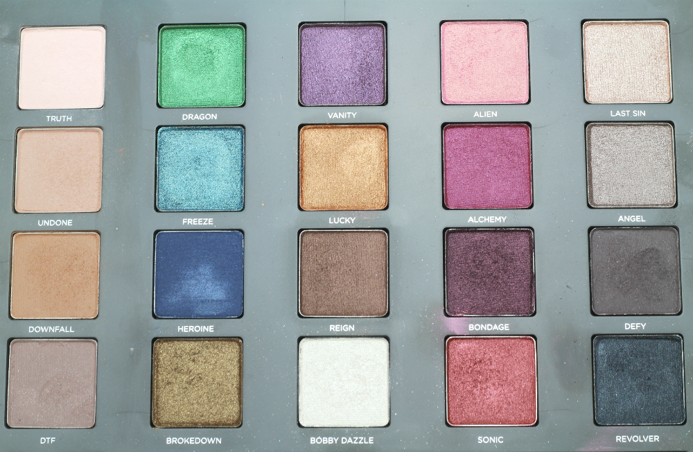 urban decay vice 3 palette review swatch demo, beauty blog