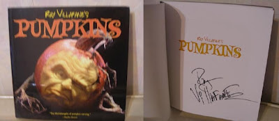 3D pumpkin book