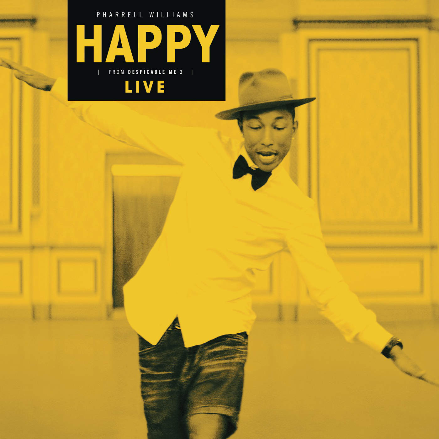 Pharrell Williams - Happy (Live) - Single Cover