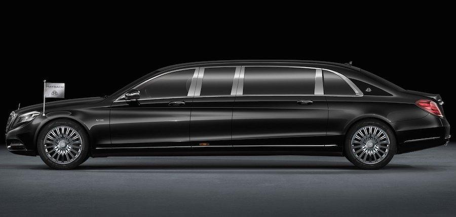 6.5メートルの新型リムジン「マイバッハ・プルマン」の全貌が明らかに!