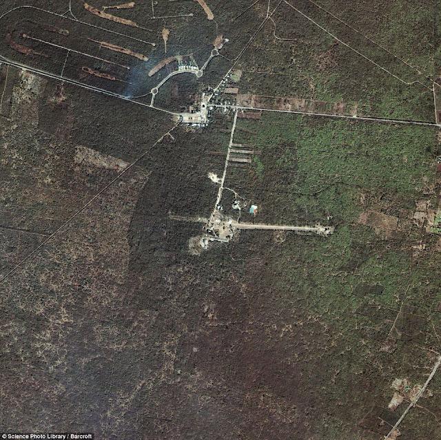 imágenes satelitales de lugares sagrados