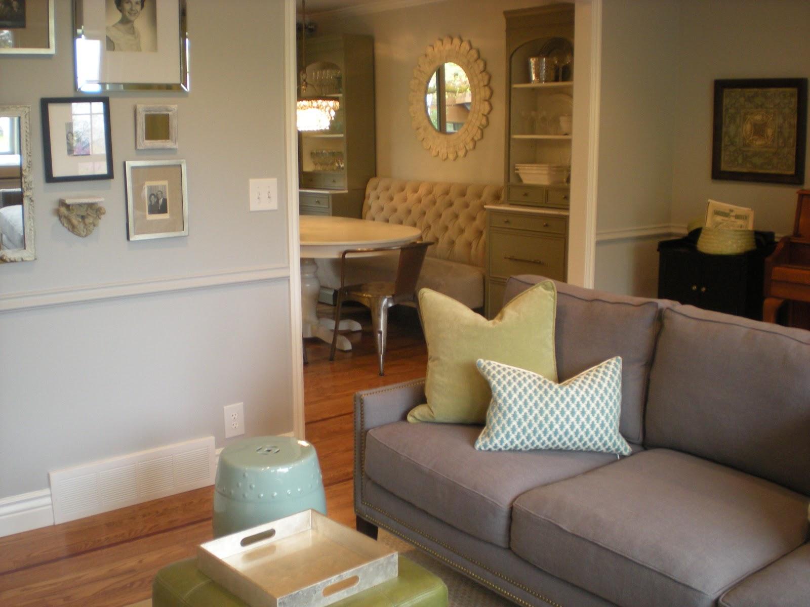 Marvelous Design Dump: Before + After: Formal Living Room Dining Room Transformation