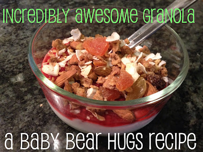 incredibly awesome granola recipe with soaked oats and kefir