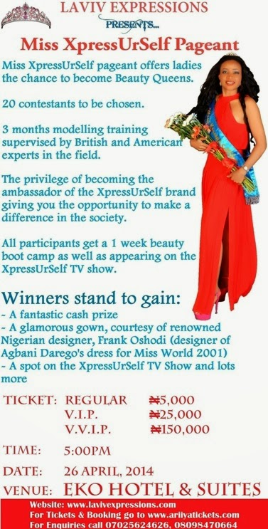 Miss XpressUrSelf Pageant