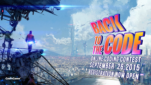 Back to the Code - September Contest