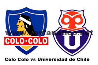 Colo Colo vs Universidad de Chile en la Final de Copa Chile 2015