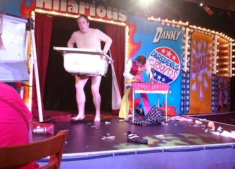 Circue Du Hilarious Review Running Bath