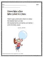 http://www.teacherspayteachers.com/Product/Long-u-sound-ew-Bubble-Gum-Phonics-Poem-436815