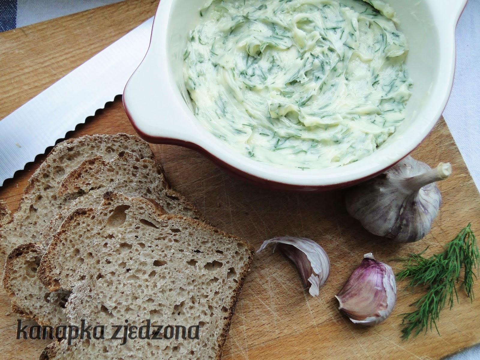 garlic butter, Knoblauchbutter, beurre à l'ail, mantequilla de ajo, masło czosnkowe