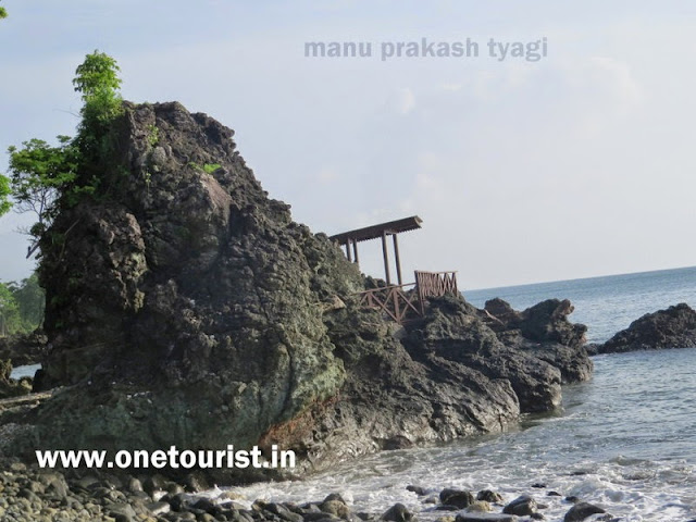 tourist place in rangat , middle andaman , moricedera picnic point