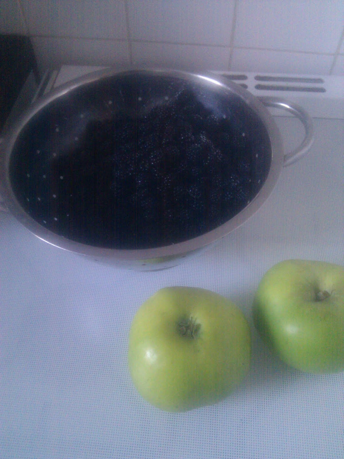 how to make blackberry and apple jam