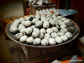 thehomefoodcook - four days of hong kong - century eggs