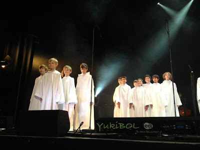 Photo from Libera boys concert in Jersey.