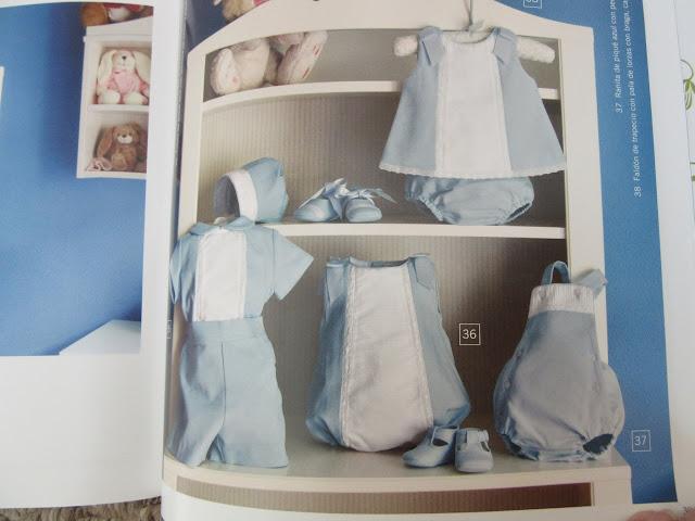 Revista con patrones de costura para ropa de bebé ranita pololo overol short camisa
