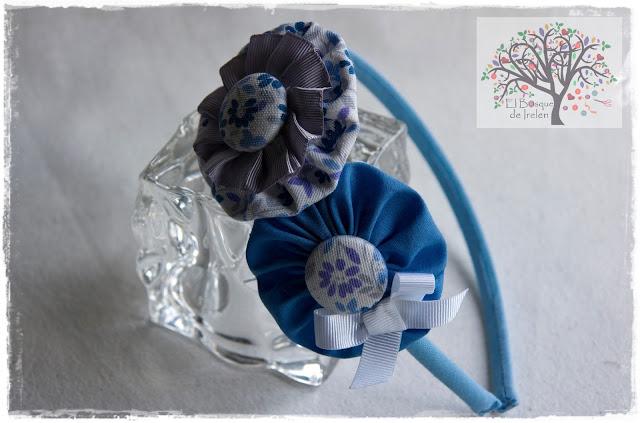Diadema azul