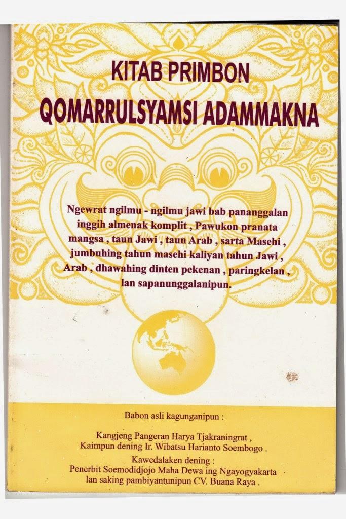 """Cara Berbelanja On Line Buku Primbon """" Betal Jemur Adam Makna ..."""