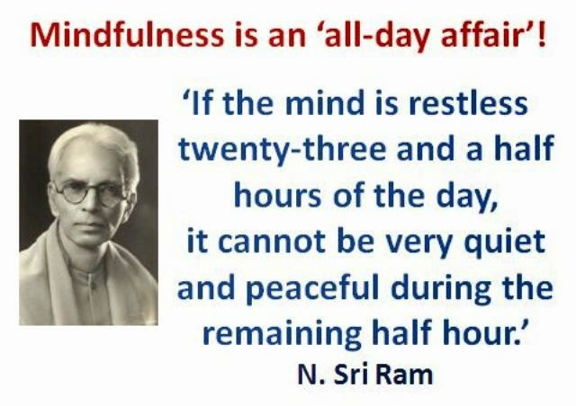 MINDFULNESS ... AN ALL-DAY AFFAIR