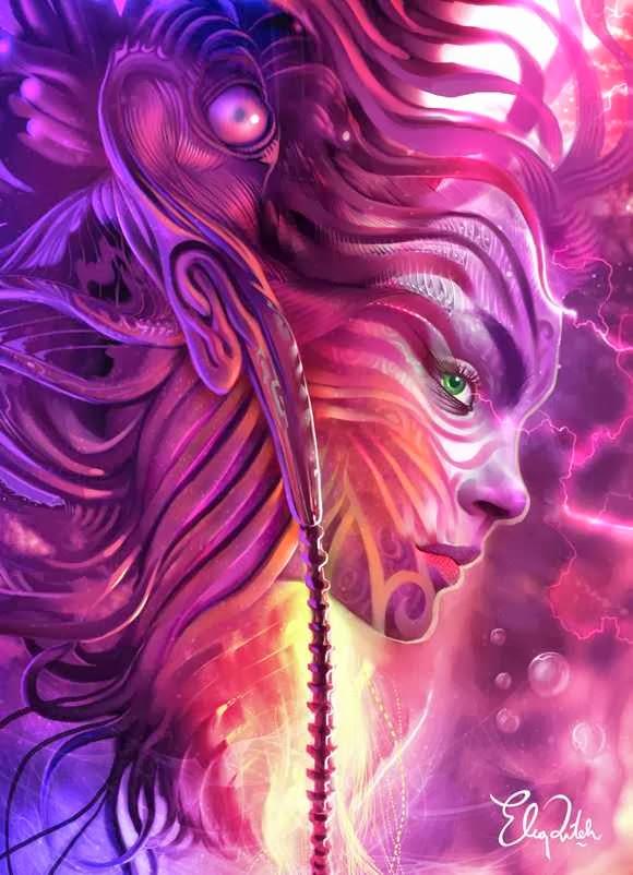 Fantasy Art Karya Eko Puteh Handriyanto