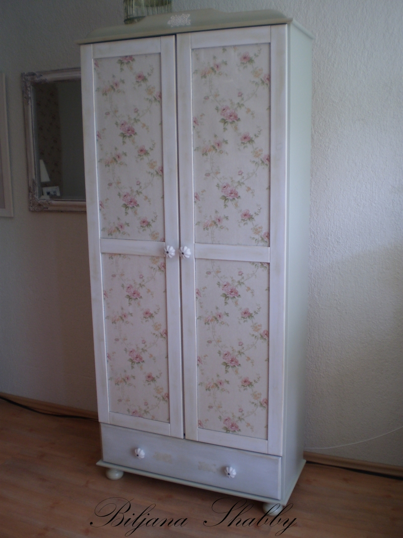 Biljana shabby shabby chic namjestaj romantic cottage for Shabby chic vitrine