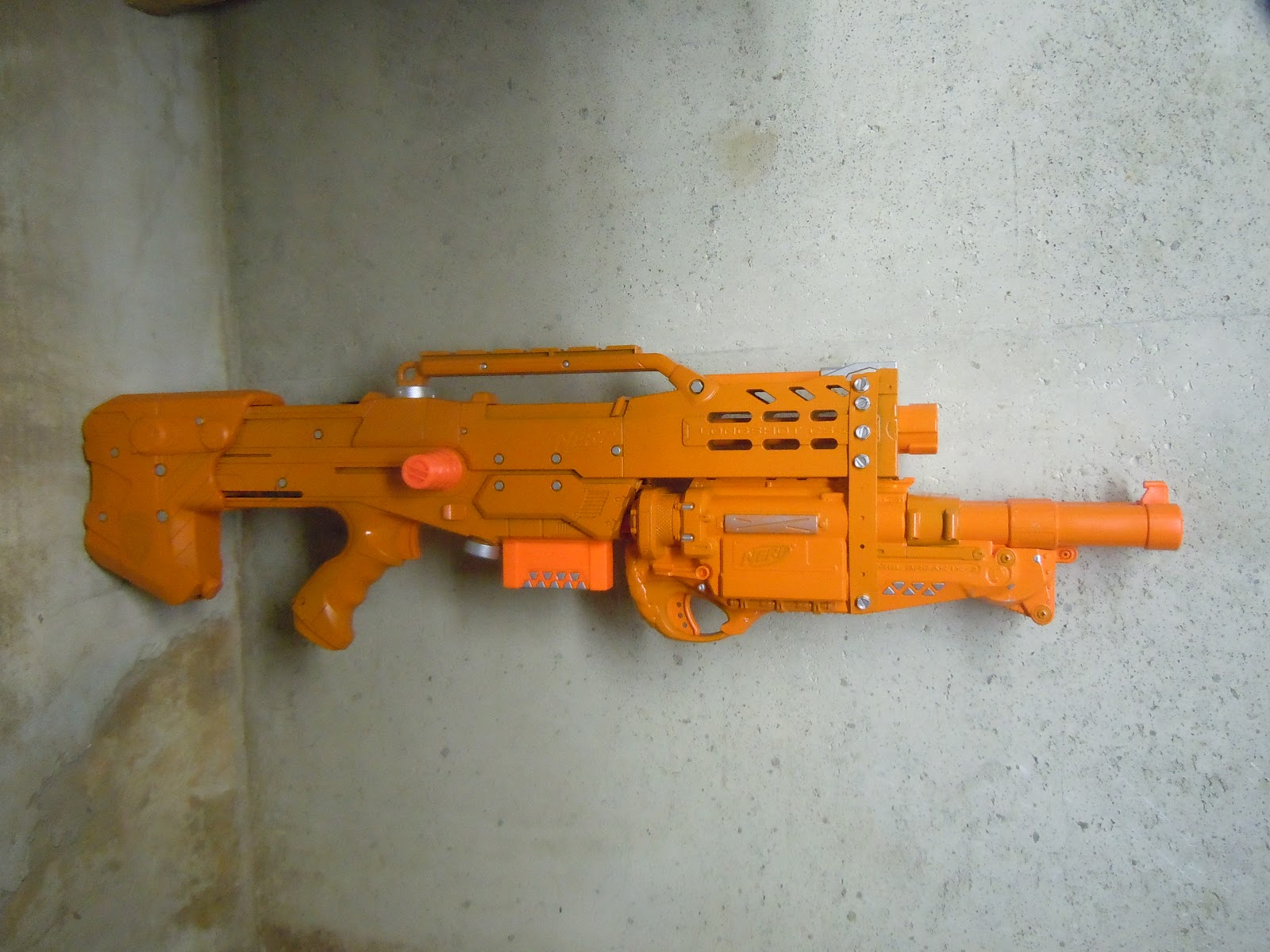 Nerf Barrel Break Paint