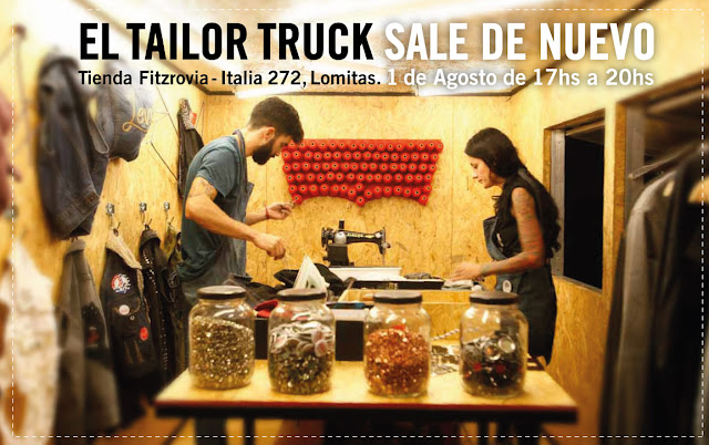 Levis Tailor Truck en #TiendaFitzrovia - Sabado 17hs.